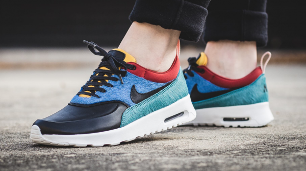 Nike WMNS Air Max Thea Premium - Star Blue/Black-Dark Cayenne 2