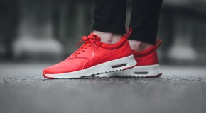 Nike WMNS Air Max Thea Premium – University Red/Sail-White