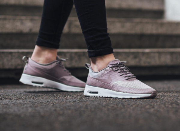 Nike WMNS Air Max Thea Textile - Plum Fog/Purple Smoke-White 2