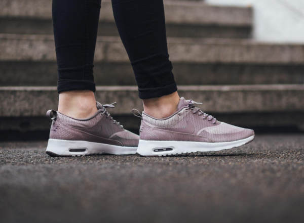 Nike WMNS Air Max Thea Textile - Plum Fog/Purple Smoke-White 3