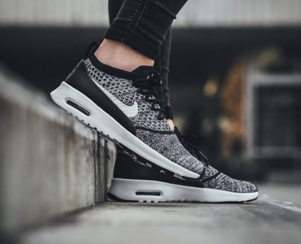 Nike WMNS Air Max Thea Ultra Flyknit - Black/White 2