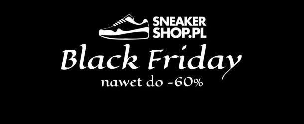 """""""Black Friday"""" na Sneakershop.pl przeceny do -60%"""