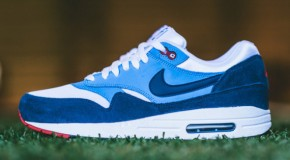 Nike Air Max 1 – White / Midnight Navy – University Blue
