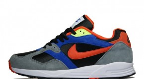 NIKE AIR BASE II – BLACK/TEAM ORANGE–COOL GREY–GAME ROYAL