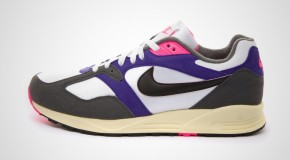 NIKE AIR BASE II VNTG – WHITE/BLACK-DARK GREY-COURT PURPLE