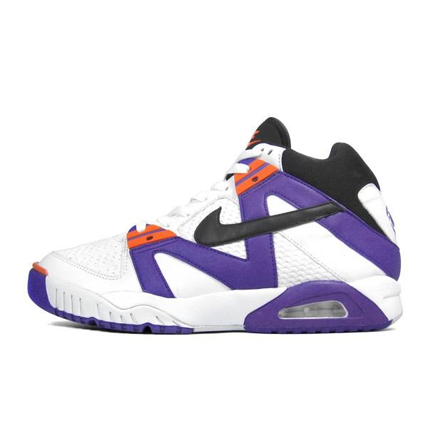 wyprzedaż resztek magazynowych przedstawianie buty do separacji NIKE AIR TECH CHALLENGE – WHITE/BLACK-VARSITY PURPLE ...