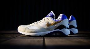 Nike Air Max 180 QS – Summit White/Metallic Gold-Bright Concord