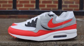 Nike Air Max Light Essential – White/Light Crimson-Grey-Black