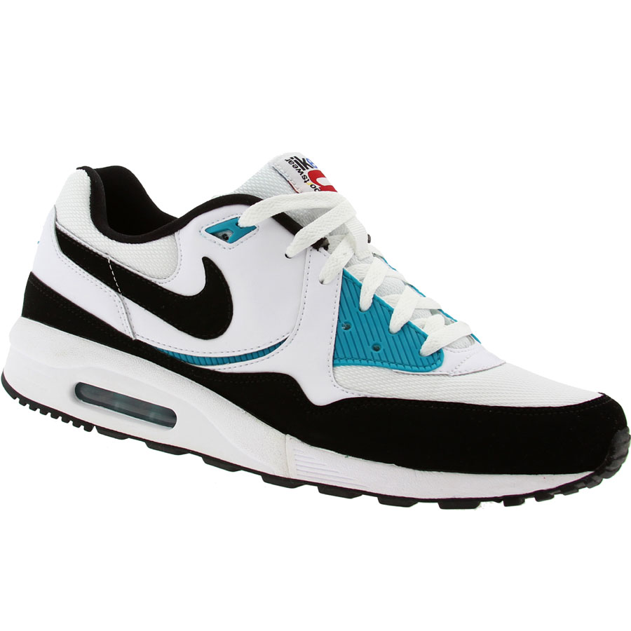 nike air max light white black glass blue. Black Bedroom Furniture Sets. Home Design Ideas