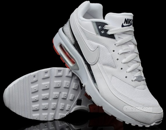 Nike Air Classic BW Textile WhiteSilver   Airmaxy.pl