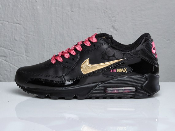 nike air max 90 black gold