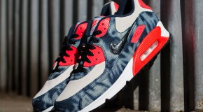 "Nike Air Max 90 ""Infrared Washed Denim"""