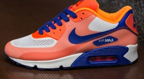 Nike WMNS Air Max 90 Hyperfuse – Hyperblue / Bright Citrus / Crimson