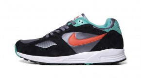 NIKE AIR BASE II – COOL GREY/TEAM ORANGE-BLACK-ATOMIC TEAL