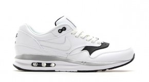 NIKE AIR MAX LUNAR1 DELUXE (WHITE LEATHER)