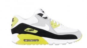 Nike Air Max 90 Premium – Strata Grey / White – Black – Cyber