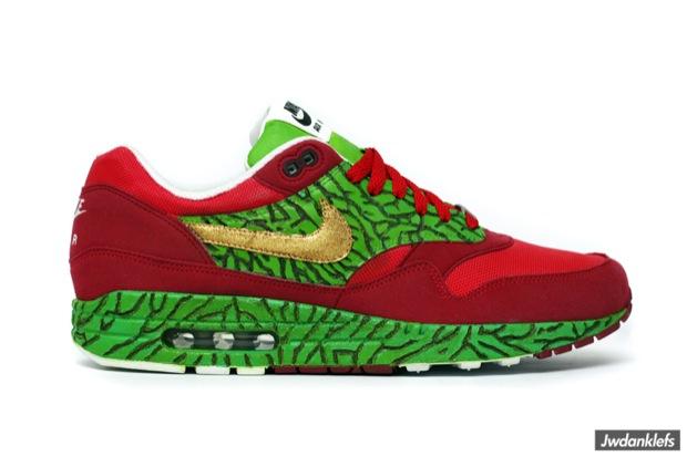 "quality design 75409 1c58f Nike Air Max 1 ""Questlove"" Custom"