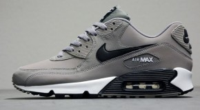 Nike Air Max 90 Essential – Sport Grey / White – Black