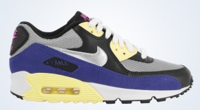 Nike WMNS Air Max 90 – Medium Grey/Metallic Silver-Black
