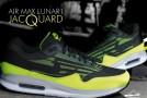 Nike Air Max Lunar1 Jacquard Iron Green/Volt-Black