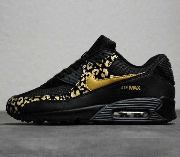 air max czarno złote