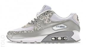 Nike WMNS Air Max 90 – White / Metallic Silver-Wolf Grey