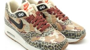 """atmos x Nike WMNS Air Max 1 PRM – """"Desert Camo / Leopard"""""""