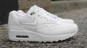 Nike WMNS Air Max 1 Premium White Metallic Silver