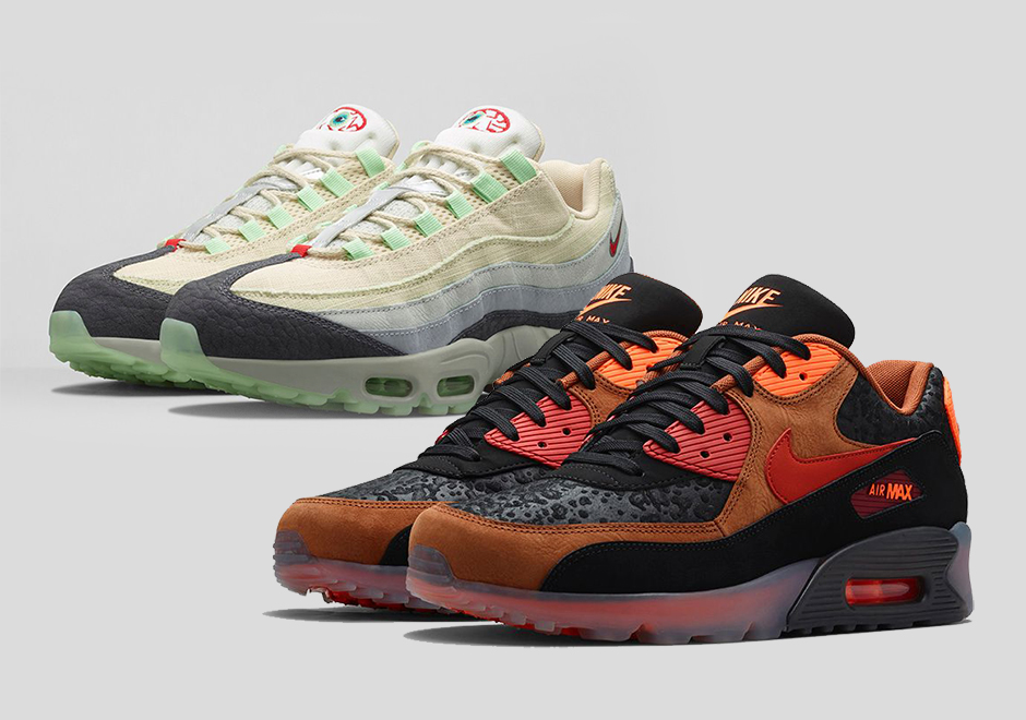 Nike Air Max 90 Halloween Black Orange