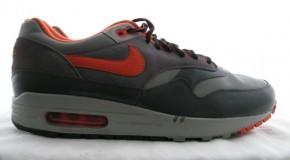 2004 Nike Air Max 1 x Huf – Grey/Orange (Unreleased Sample)