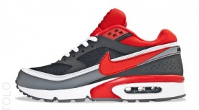 Nike Air Classic BW Textile Anthracite/University Red-Cool Grey