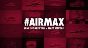 AIRMAX – Nowa kolaboracja Nike i Matta Stevensa, autora projektu MAX100
