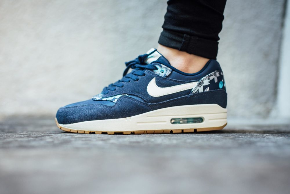 Nike Air Max 1 Premium Midnight Navy Dark Obsidian