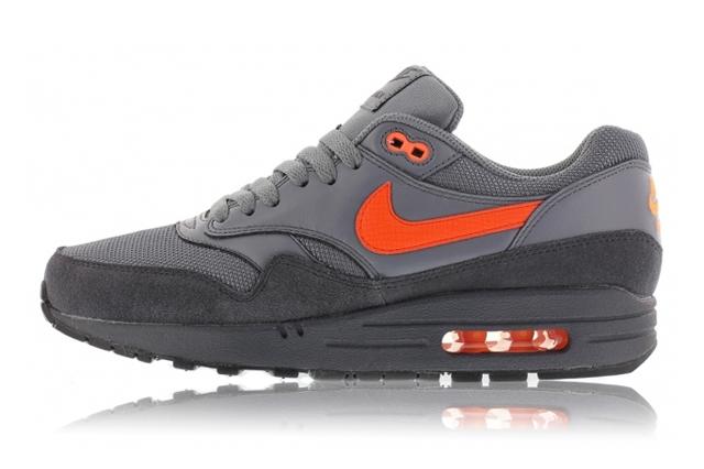Nike Air Max 90 Premium Team Orange Black Anthracite
