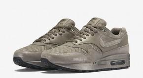 Nike Air Max 1 Premium – Iron/Metallic Pewter-Black