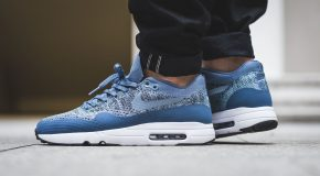 Nike Air Max 1 Ultra 2.0 Flyknit – Ocean Fog/Mica Blue-Black