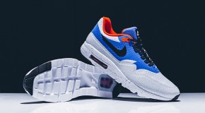 Nike Air Max 1 Ultra Essential – White/Black-Varsity Royal-Reflective Silver