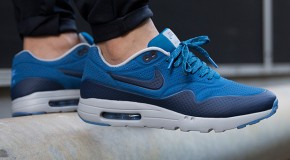 Nike Air Max 1 Ultra Moire – Navy Blue/Bright Blue-White