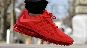 "Nike Air Max 2015 ""Bright Crimson"""