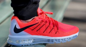 Nike Air Max 2015 – Bright Crimson / Black – Summit White