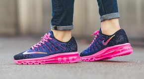 Nike Air Max 2016 Print GS – Deep Night/Black-Pink Blast-Volt