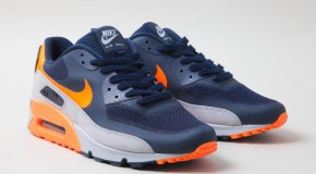 Nike Air Max 90 Hyperfuse – Navy/Grey/Bright Orange