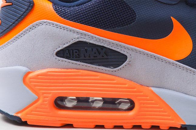 nike air max 90 hyperfuse grey orange