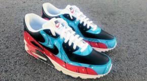 "Nike Air Max 90 ""Bizarre Visions"" Custom"