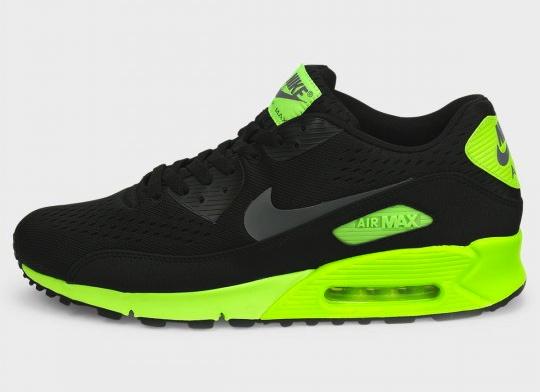 black and green nike air max 90