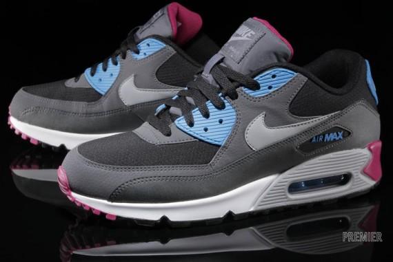 Nike Air Max 90 Essential – Black – Blue – Pink | Airmaxy.pl