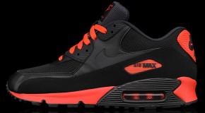Nike Air Max 90 Essential – Black/Anthracite – Sunburst