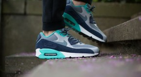 Nike Air Max 90 Essential – Blue Graphite / Blue Graphite – Wolf Grey