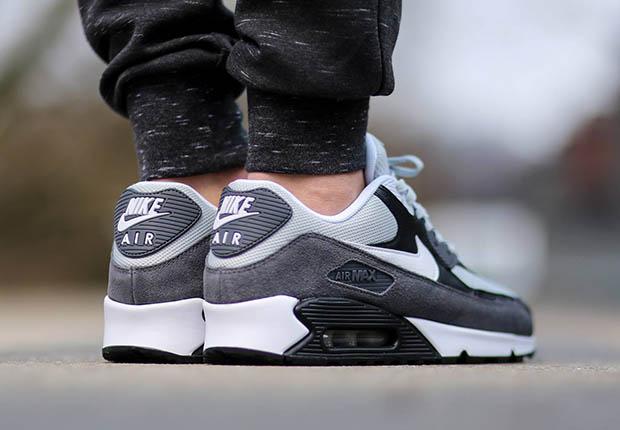 Nike Air Max 90 Essential – Grey Mist White – Dark Grey