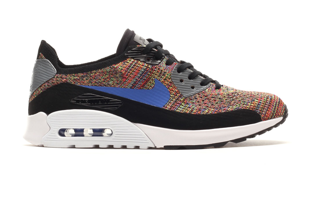 "Nike Air Max 90 Ultra 2.0 Flyknit ""Multicolor"" Shoes Posts"